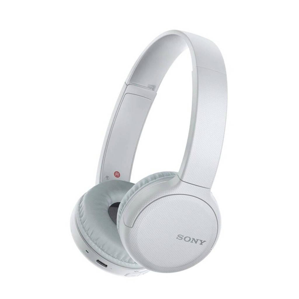 Sony WH-CH510 Bluetooth on-ear koptelefoon (wit), Wit