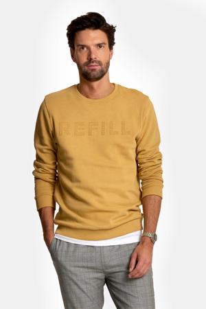 sweater met logo sand