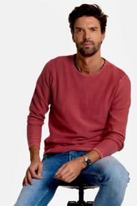 Refill sweater met logo darkpink, DARKPINK