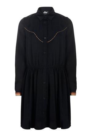 blousejurk zwart/oranje