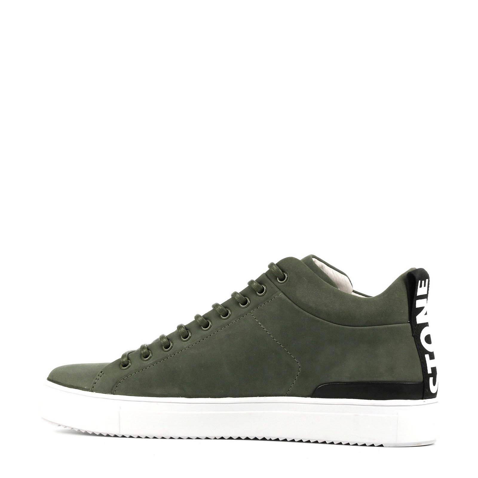 RM14nb halfhoge nubuck sneakers