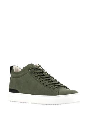 RM14nb  halfhoge nubuck sneakers groen