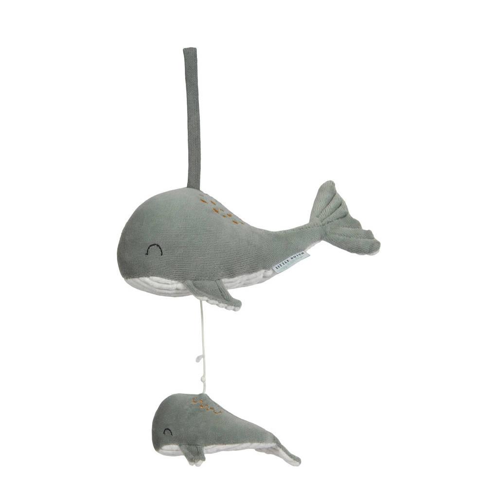 Little Dutch walvis muziekdoosje, Mintgroen