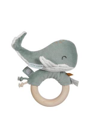 walvis houten ringrammelaar