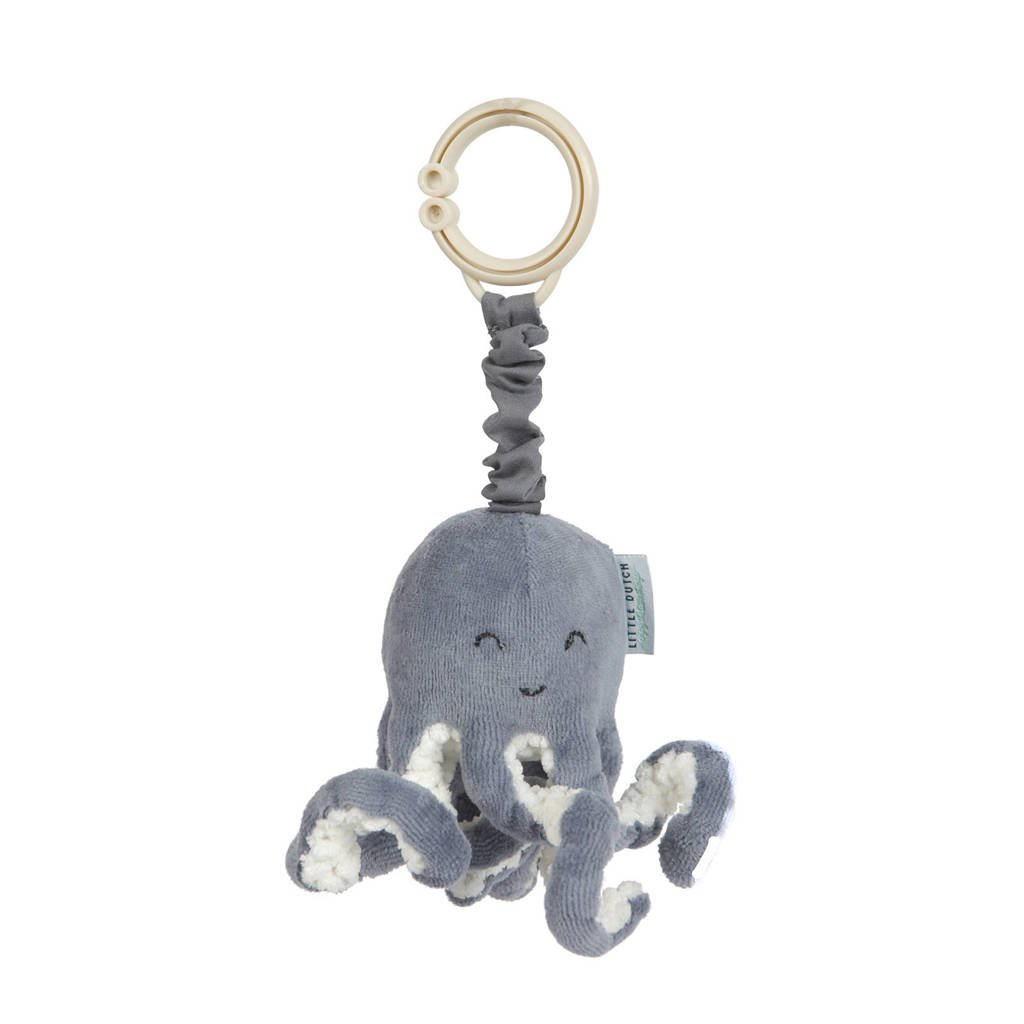 Little Dutch octopus trilfiguur, Blauw