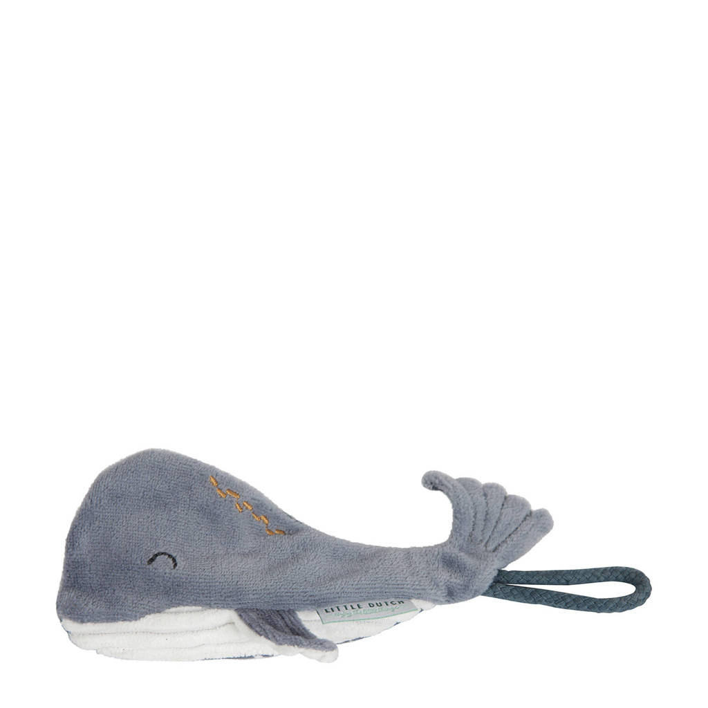 Little Dutch spenenketting walvis, Blauw