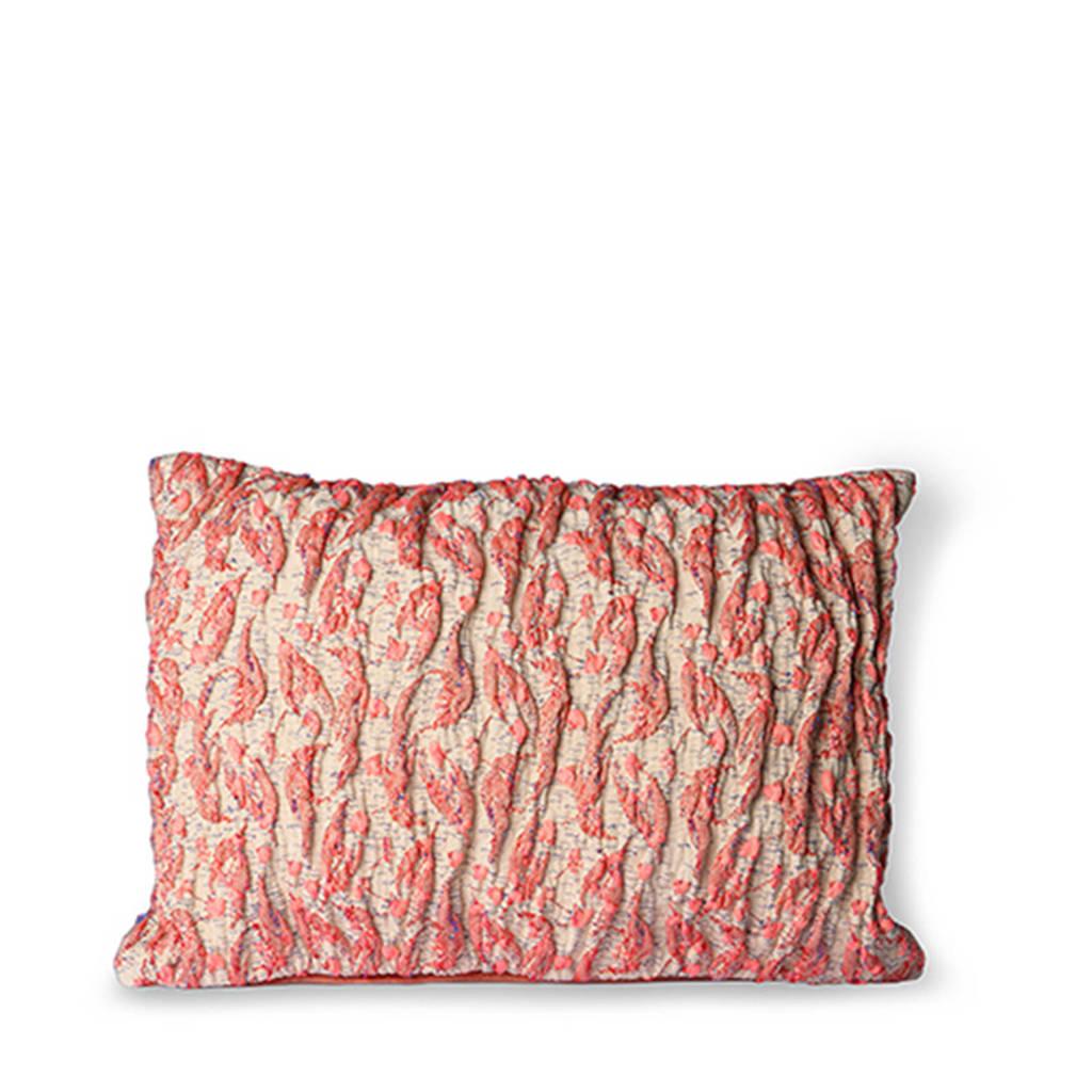 HKliving sierkussen (40x30 cm), Roze/paars