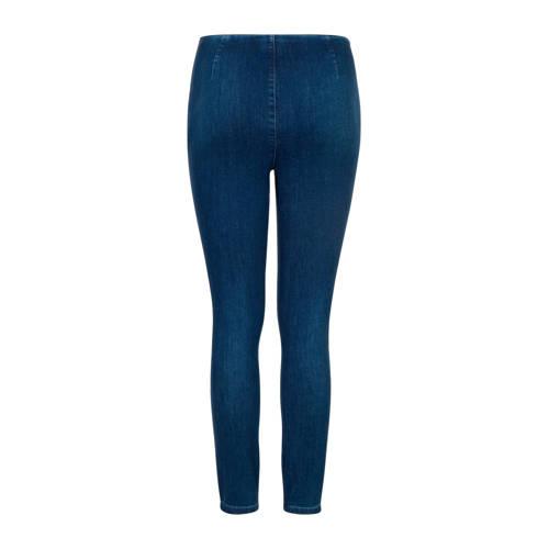 PROMISS high waist skinny broek blauw