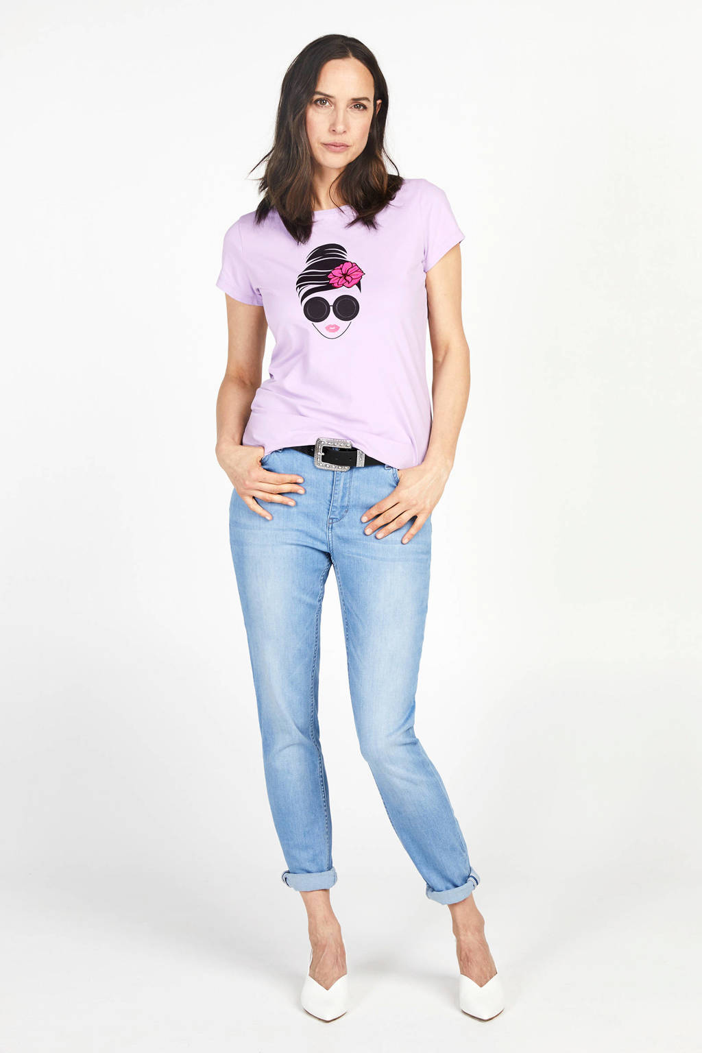 PROMISS slim fit jeans light denim, Light denim
