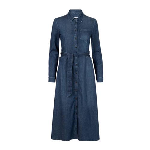 PROMISS blousejurk met ceintuur donkerblauw