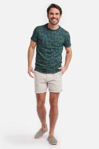 Shiwi T-shirt met all over print groen, Groen