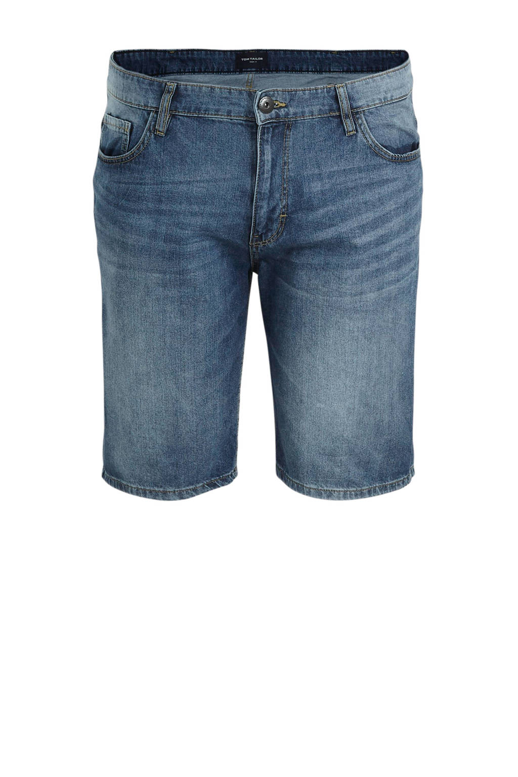 Tom Tailor Big & Tall slim fit jeans short light stone wash denim, Light stone wash denim
