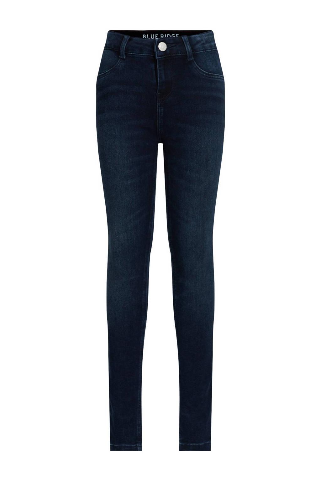 WE Fashion Blue Ridge super skinny jeans Yfke dark denim, Dark denim