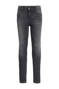 WE Fashion Blue Ridge super skinny jeans Yfke grijs, Grijs