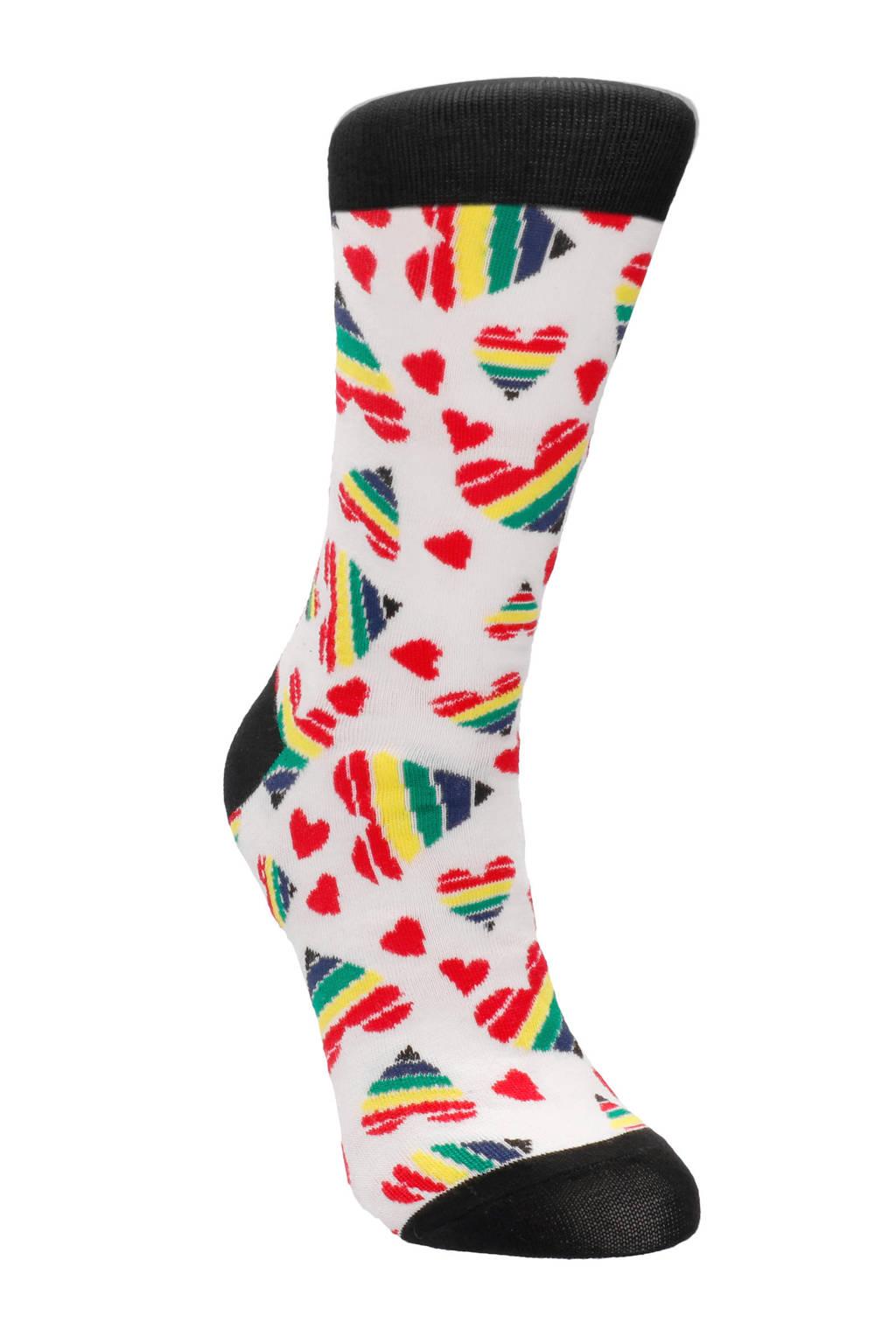 S-Line Sexy Sokken Happy Hearts - Maat 42-46