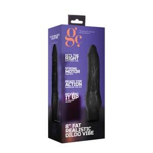 GC Fat Realistische vibrator – 20 cm – Zwart