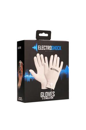 Electroshock E-stimulatie Handschoenen met afstandsbediening - Grijs