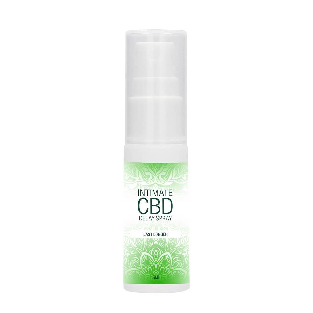 Pharmquests Natuurlijke CBD Delay Spray tegen Vroegtijdige Zaadlozing - 15 ml