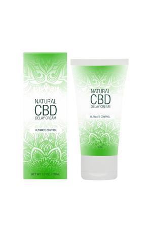 Natuurlijke CBD Delay Creme tegen Vroegtijdige Zaadlozing - 50 ml