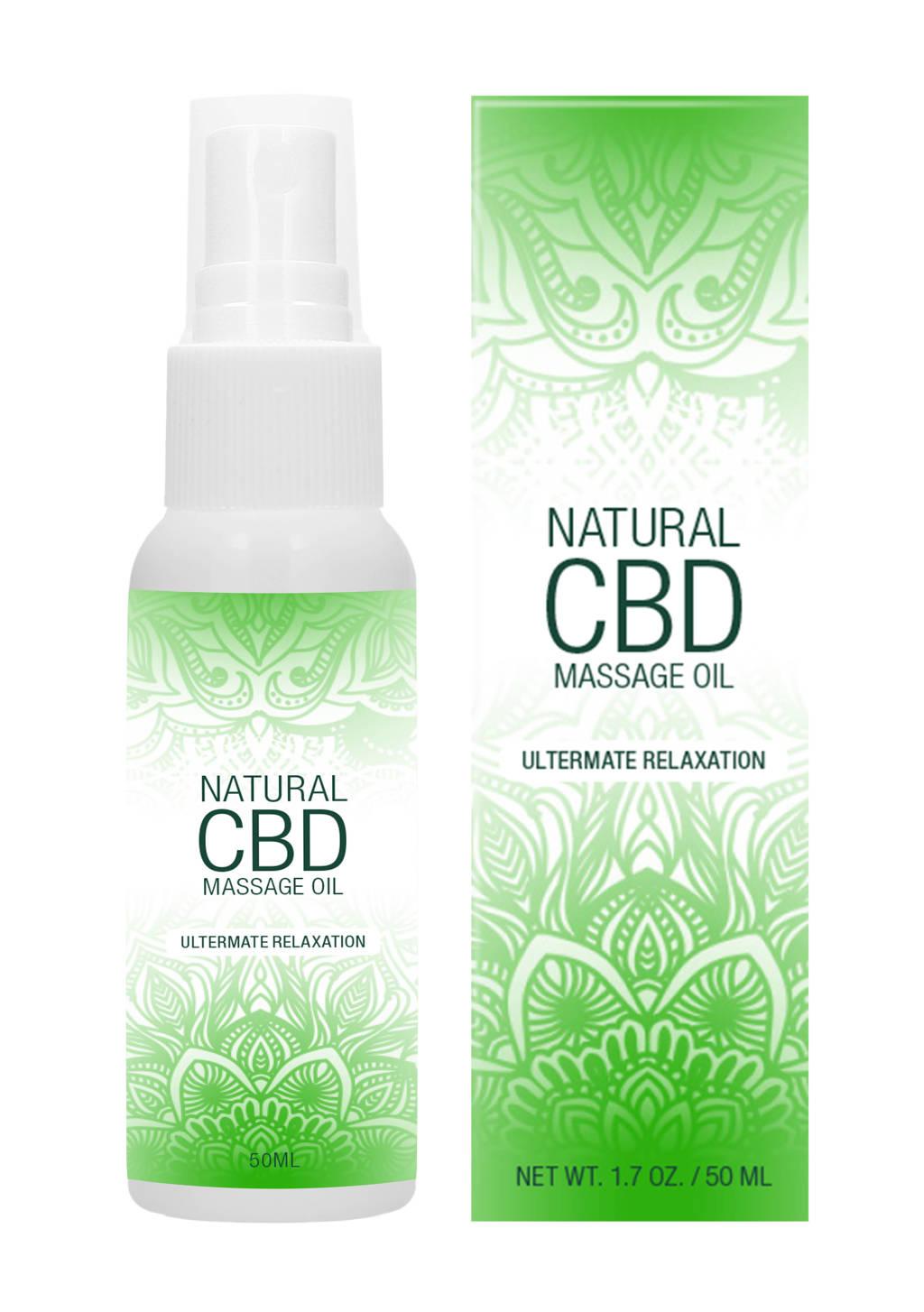 Pharmquests Natuurlijke CBD Massage Olie - 50 ml