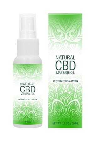 Natuurlijke CBD Massage Olie - 50 ml