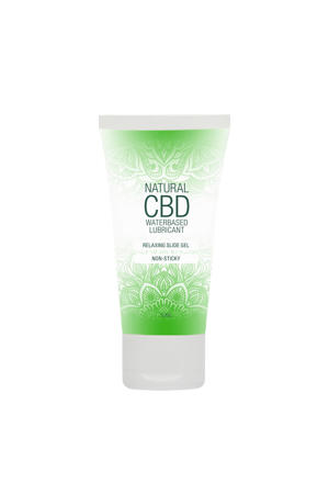 Natuurlijke CBD Glijmiddel op Waterbasis - 50 ml