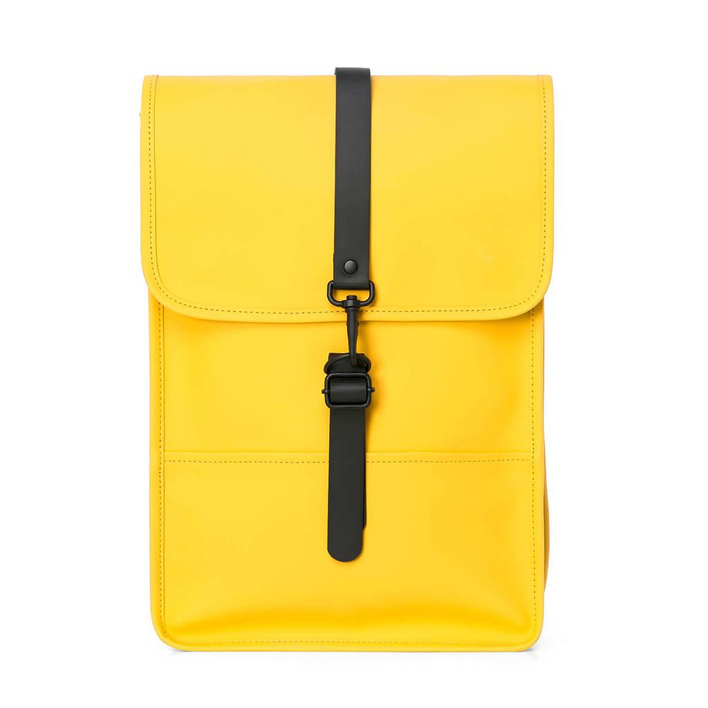 Rains  rugzak geel, Geel