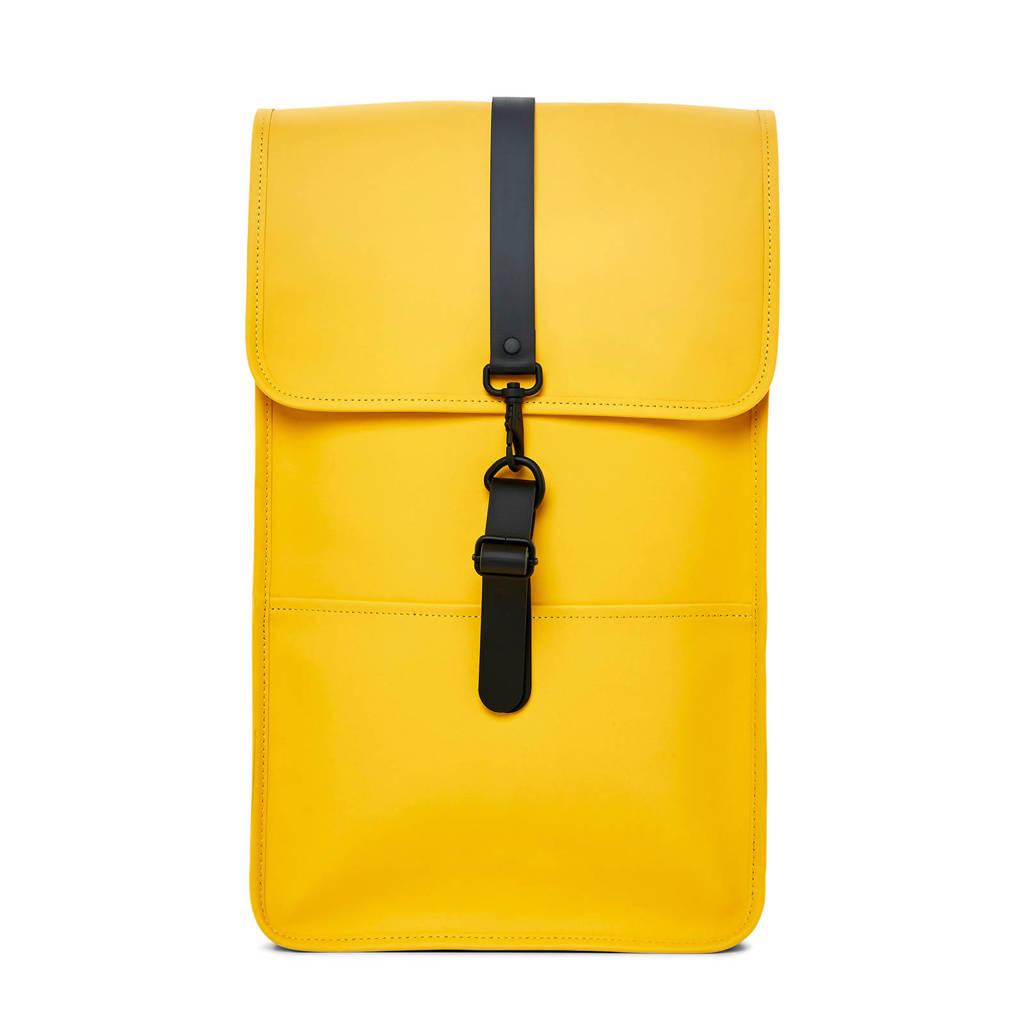 Rains  rugzak Original Backpack geel, Geel