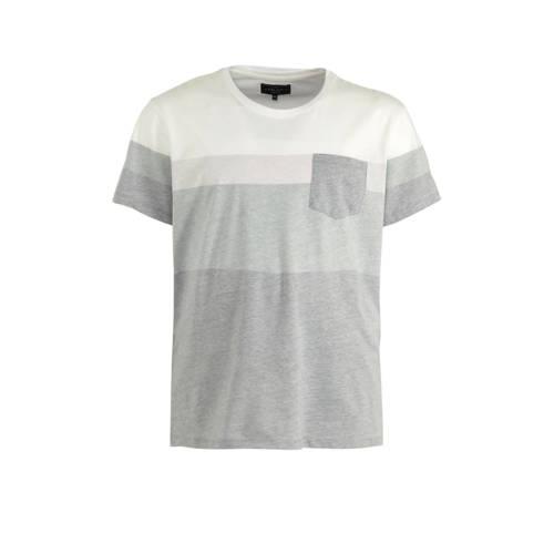URBN SAINT T-shirt grijs/wit