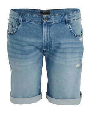 regular fit jeans short soft blue