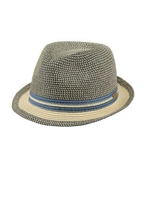 hoed blauw