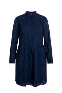 SisterS Point jurk VILKE-DR met kant blauw, Blauw