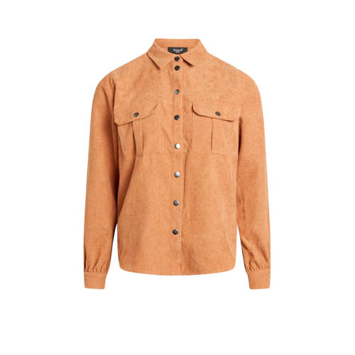 SisterS Point corduroy blouse Elma bruin