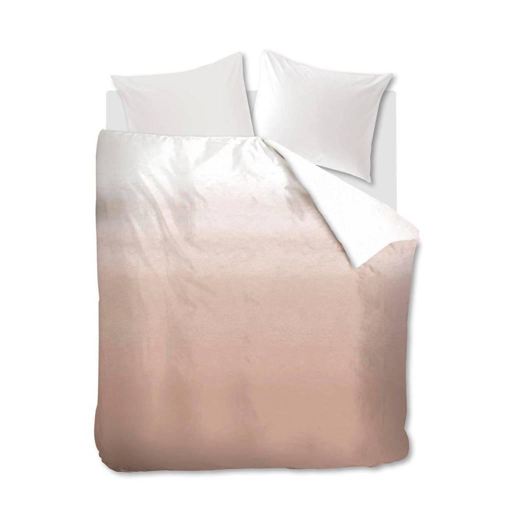 vtwonen katoenen dekbedovertrek 2 persoons, Roze, 2 persoons (200 cm breed)