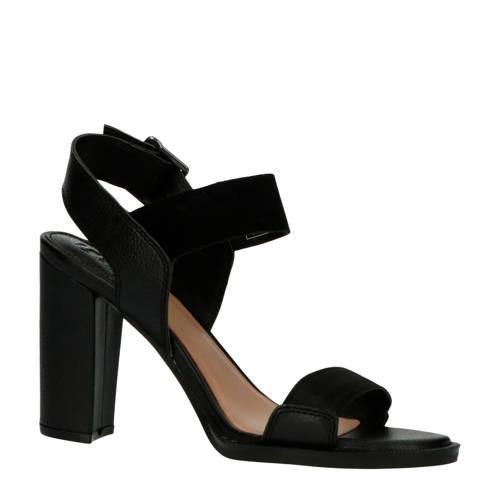 G-Star RAW Navik OG Heel leren sandalettes zwart
