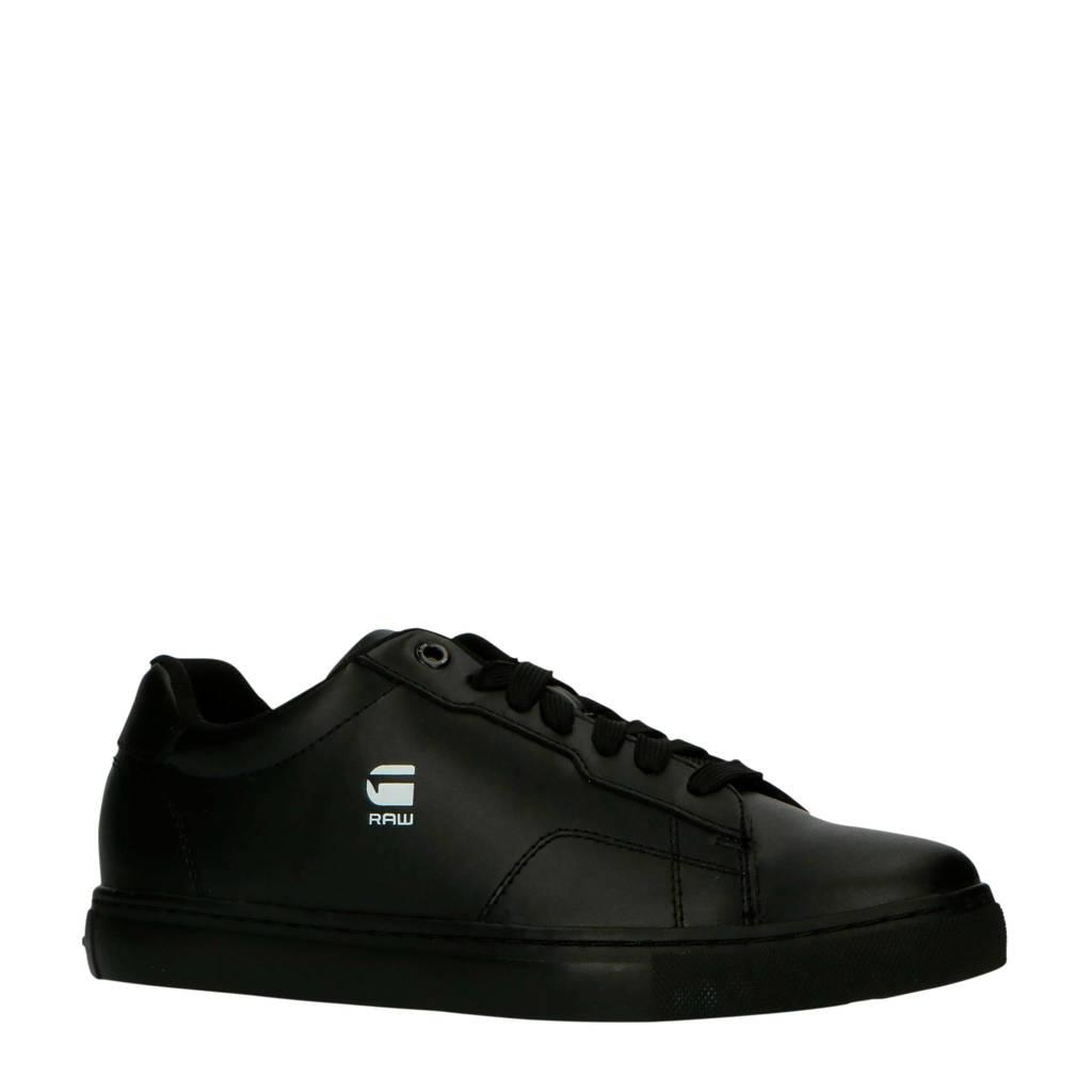 G-Star RAW Cadet WMN sneakers zwart, Zwart/Zwart