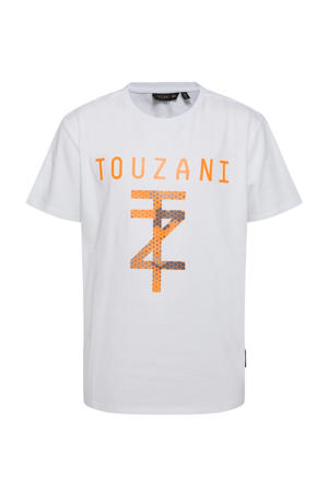 X Touzani voetbal T-shirt wit