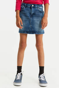 WE Fashion Blue Ridge regular fit spijkerrok stonewashed, Stonewashed