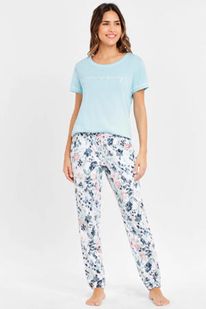 pyjamatop lichtblauw