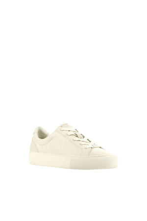 1104067  leren sneakers off white
