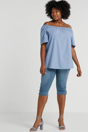 skinny capri jeans Capri Pants blauw