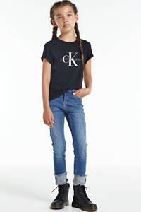 CALVIN KLEIN JEANS T-shirt van biologisch katoen zwart, Zwart