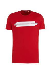 Antony Morato T-shirt met printopdruk rood, Rood