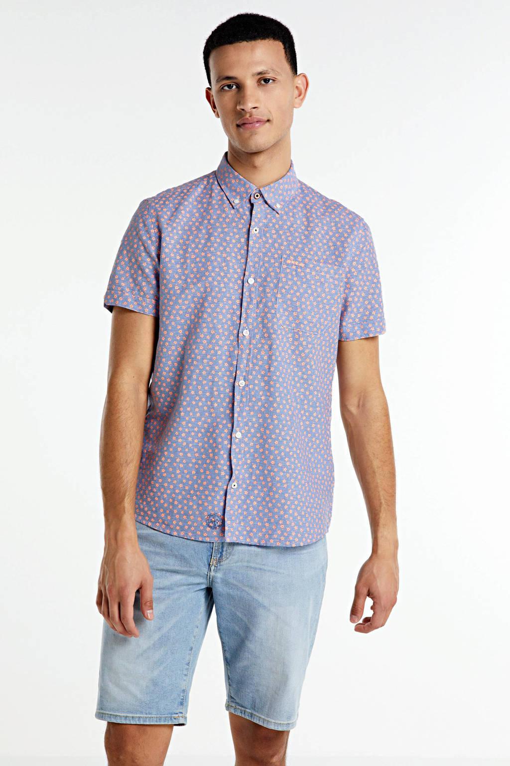 Antony Morato slim fit jeans short Dave blue denim, Blue denim