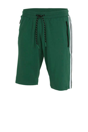 regular fit sweatshort groen