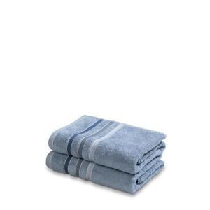 handdoek (set van 2) (110 x 60 cm) Blauw