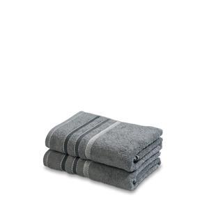 handdoek (set van 2) (110 x 60 cm) Grijs