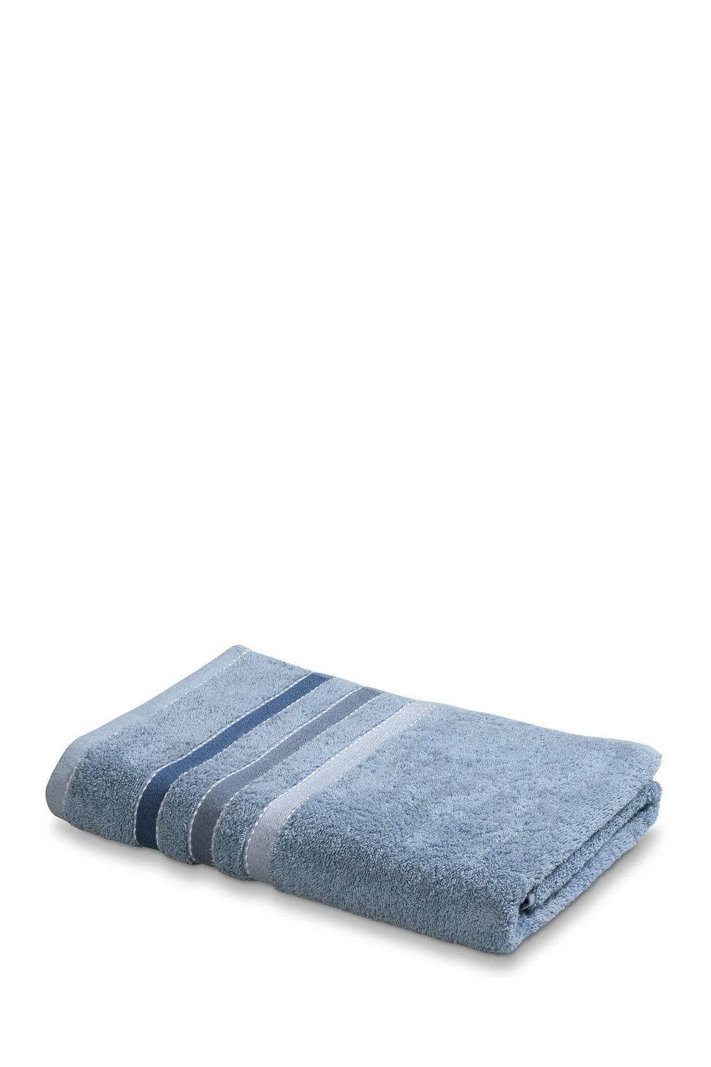 Vandyck badhanddoek (140 x 70 cm) Blauw