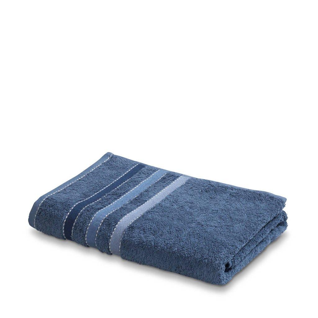 Vandyck badhanddoek (140 x 70 cm) Vintage blauw