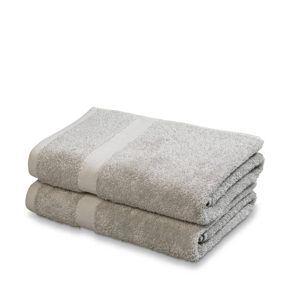 Vandyck handdoek (set van 2) (110x60 cm), Grijs